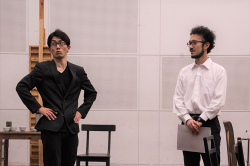 写真左から:河波哲平、宮崎隼人
