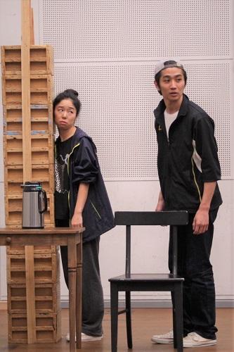 写真左から:今井仁美、扇国遼