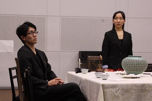 写真左から:河波哲平、島田恵莉