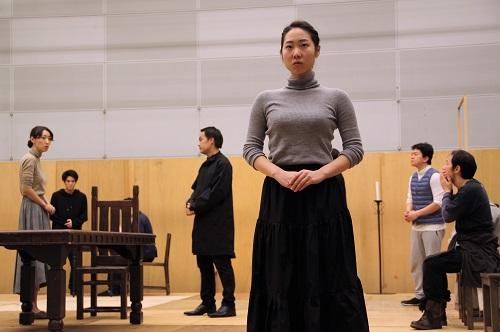 写真左から:永井茉梨奈、石原嵩志、西原やすあき、川飛舞花、福本鴻介、今井聡