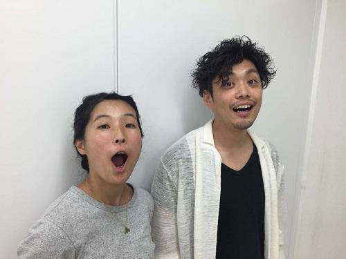 辻村優子さんと梶原航さん