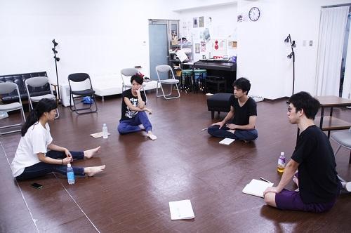 【左から(敬称略)辻村優子、高橋美帆、坂川慶成、野坂弘】
