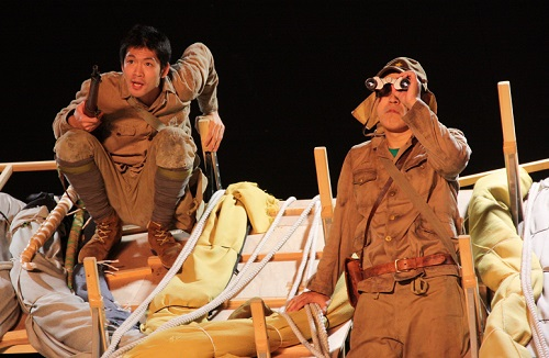 写真(左から敬称略):松下洸平、山西惇