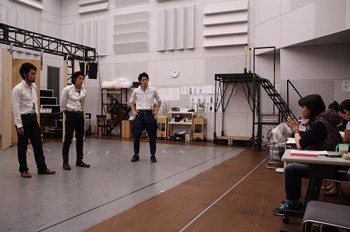 写真左から:中西良介、永田涼、田村将一、田中麻衣子