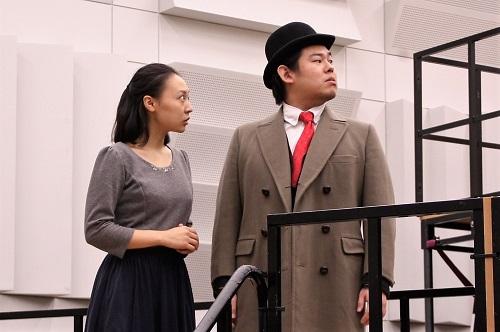 写真左から:川澄透子、山田健人