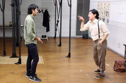 左から:上西佑樹、椎名一浩