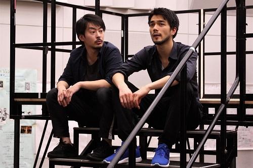 左から:小比類巻諒介、バルテンシュタイン永岡玲央