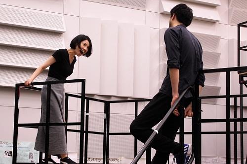 左から:泉千恵(6期修了生)、バルテンシュタイン永岡玲央