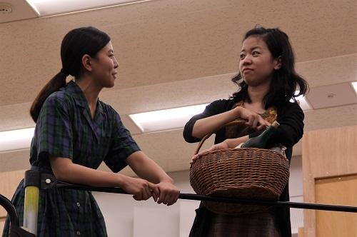 左から:佐藤和、篠原初実
