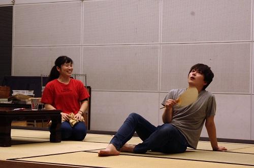 左から:田渕詩乃、小比類巻諒介