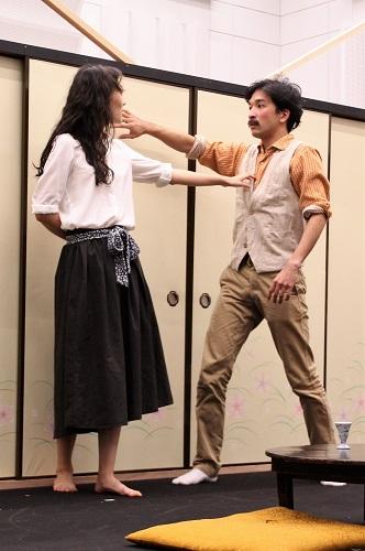 写真(左から敬称略):永井茉梨奈、坂川慶成(第8期修了)