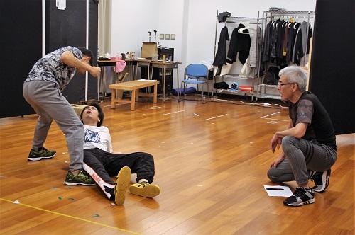 写真(左から):和田正人、宮崎秋人、渥美博