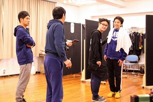写真(左から):和田正人、中村まこと、木村了、宮崎秋人
