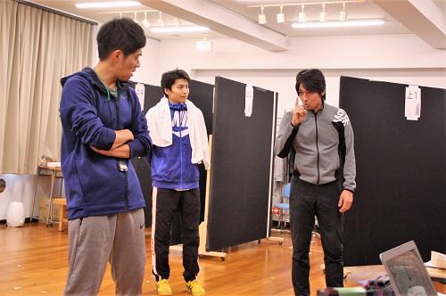 写真(左から):和田正人、宮崎秋人、高橋光臣