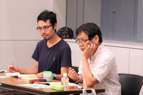 写真左から:中西良介(10期修了)、西川信廣