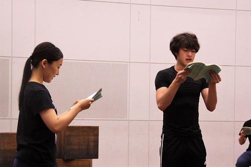 写真左から:島田恵莉、永田涼(10期修了)