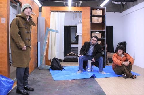 写真左から:高倉直人、中西良介、永田涼