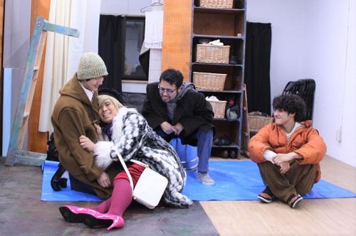 写真左から:高倉直人、岩男海史、中西良介、永田涼