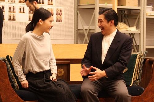 写真左から:ユーリック永扇、椎名一浩(11期修了)