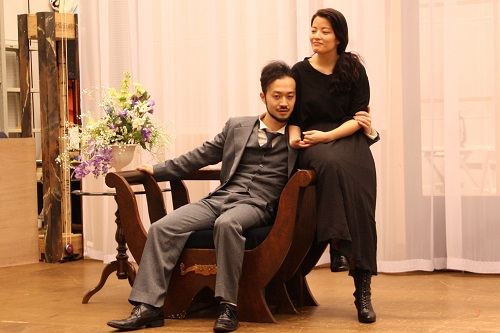 写真左から:宮崎隼人、大久保眞希